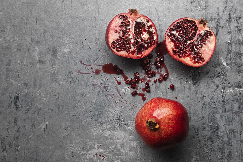 er granatæbler sunde