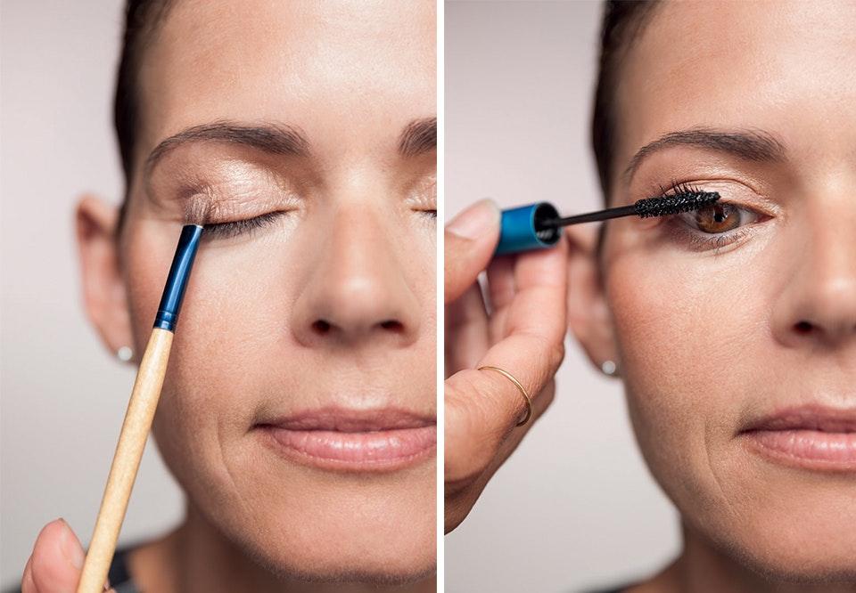 hvordan lægger man øjenmakeup