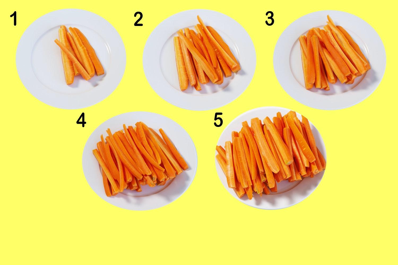 hur många kalorier i en morot