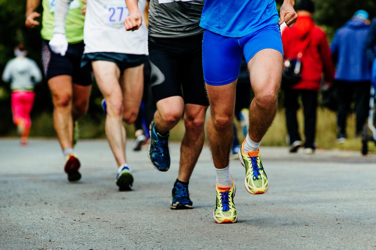 hvor hurtigt løber man