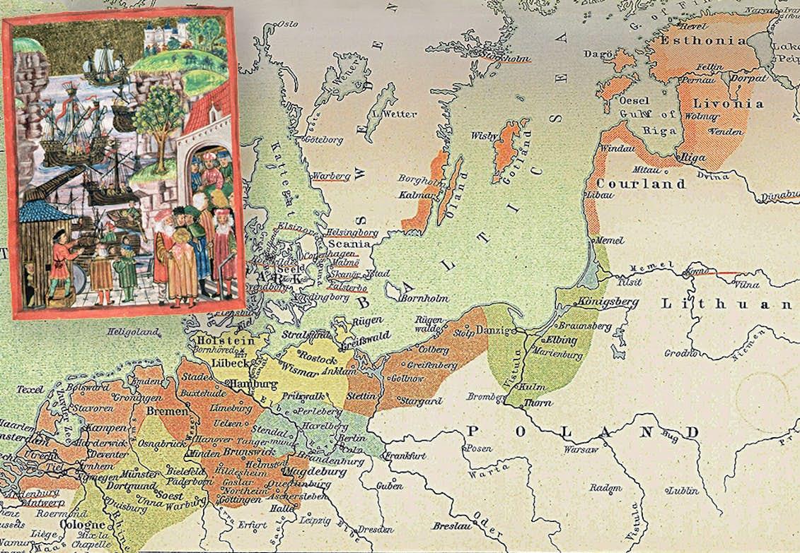 Hansan Europas Forsta Gemensamma Marknad Popularhistoria Se