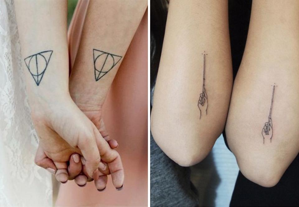 små fine tatoveringer