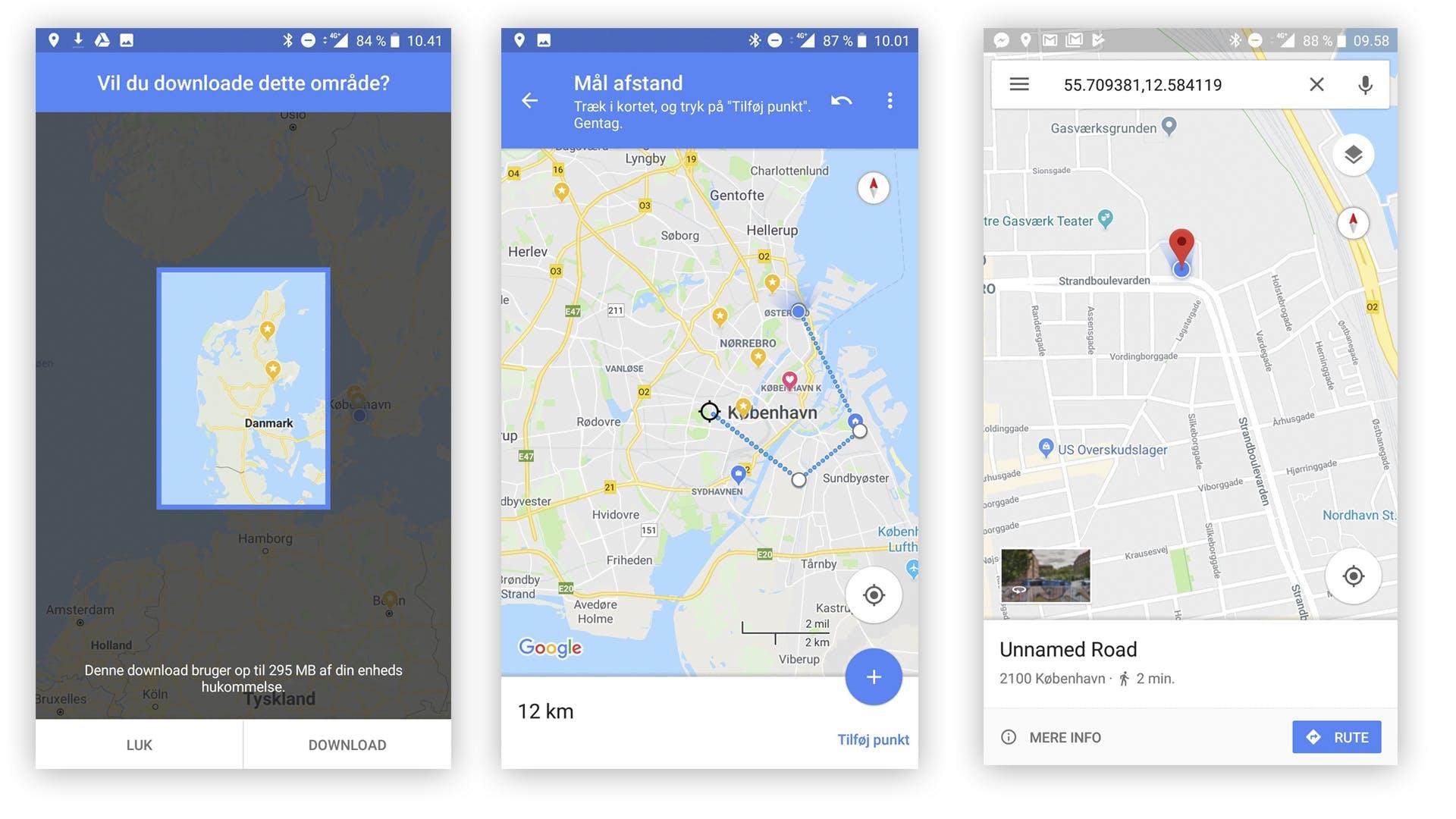 mål avstand i kart 3 tips for å få mer ut av Google Maps | Komputer.no mål avstand i kart