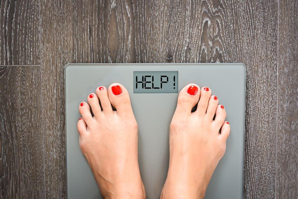 går man upp i vikt vid mens
