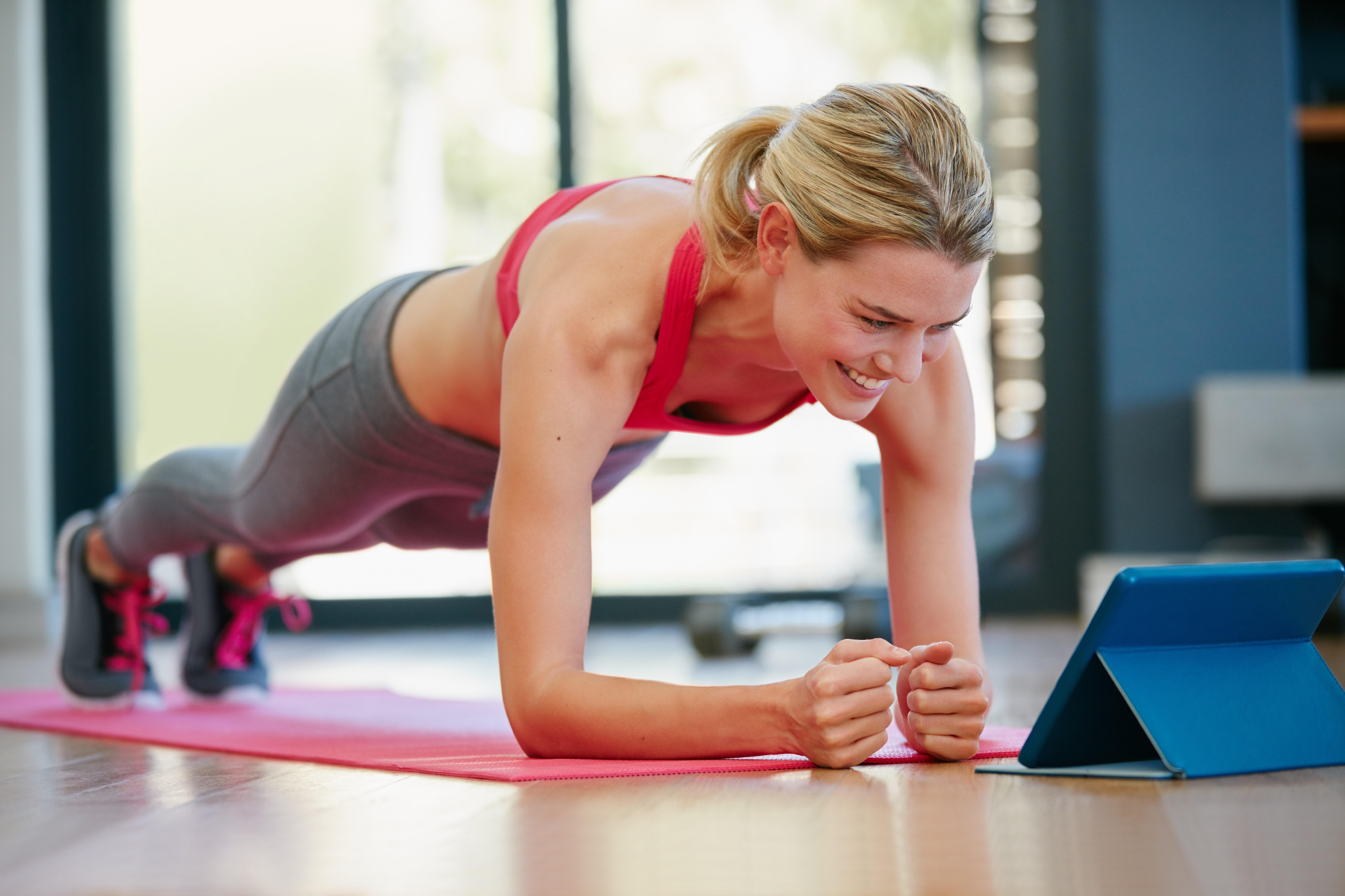 träna med kroppsvikt varje dag