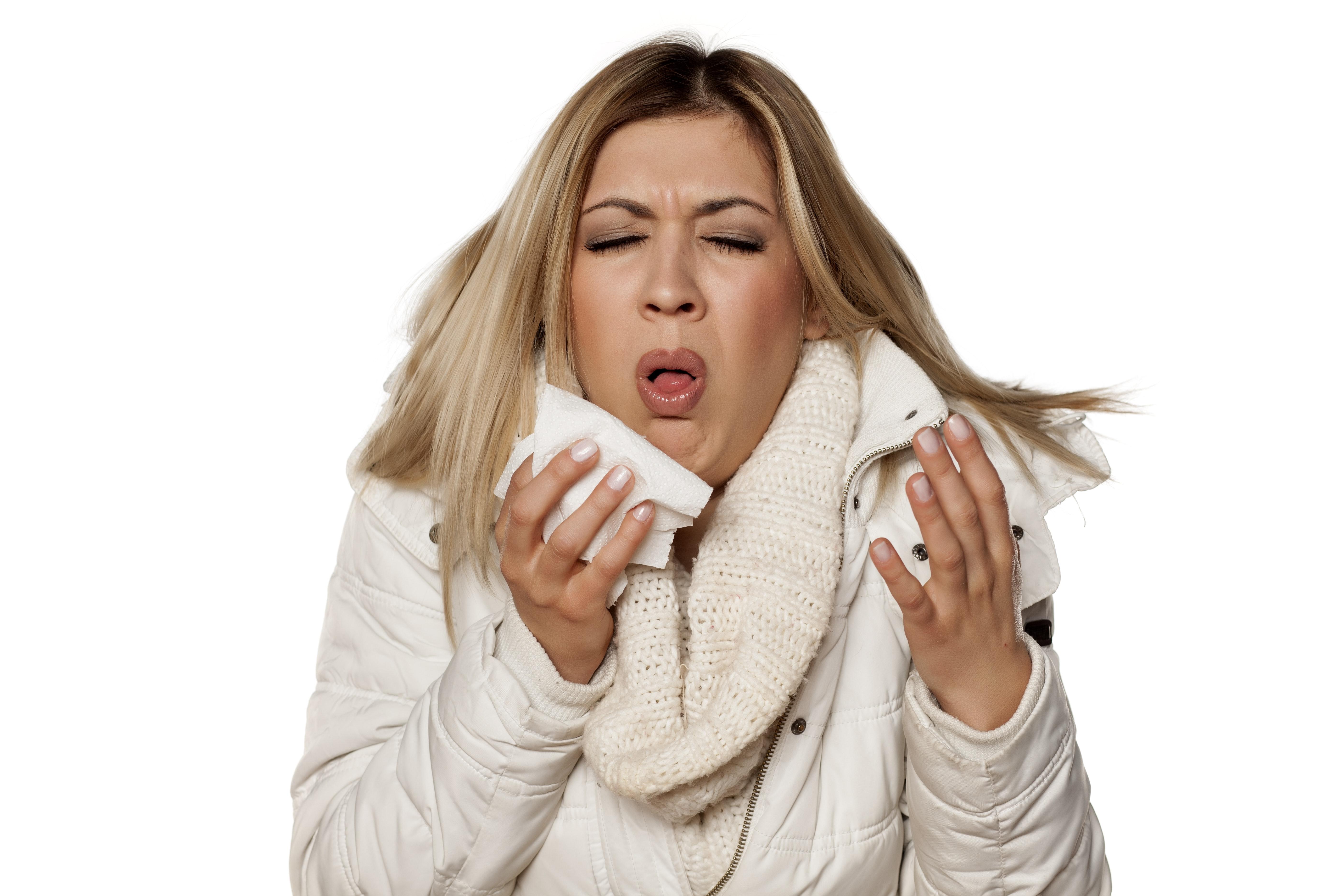 hosta vid förkylning