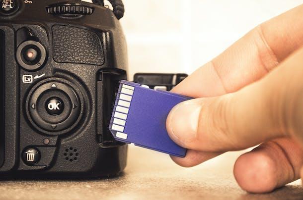 Hukommelseskort til kamera