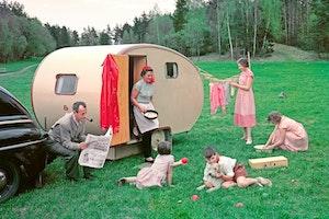 Husvagn agget 1950 tal familj ynl5vcttfrrtdhzsxmjupg