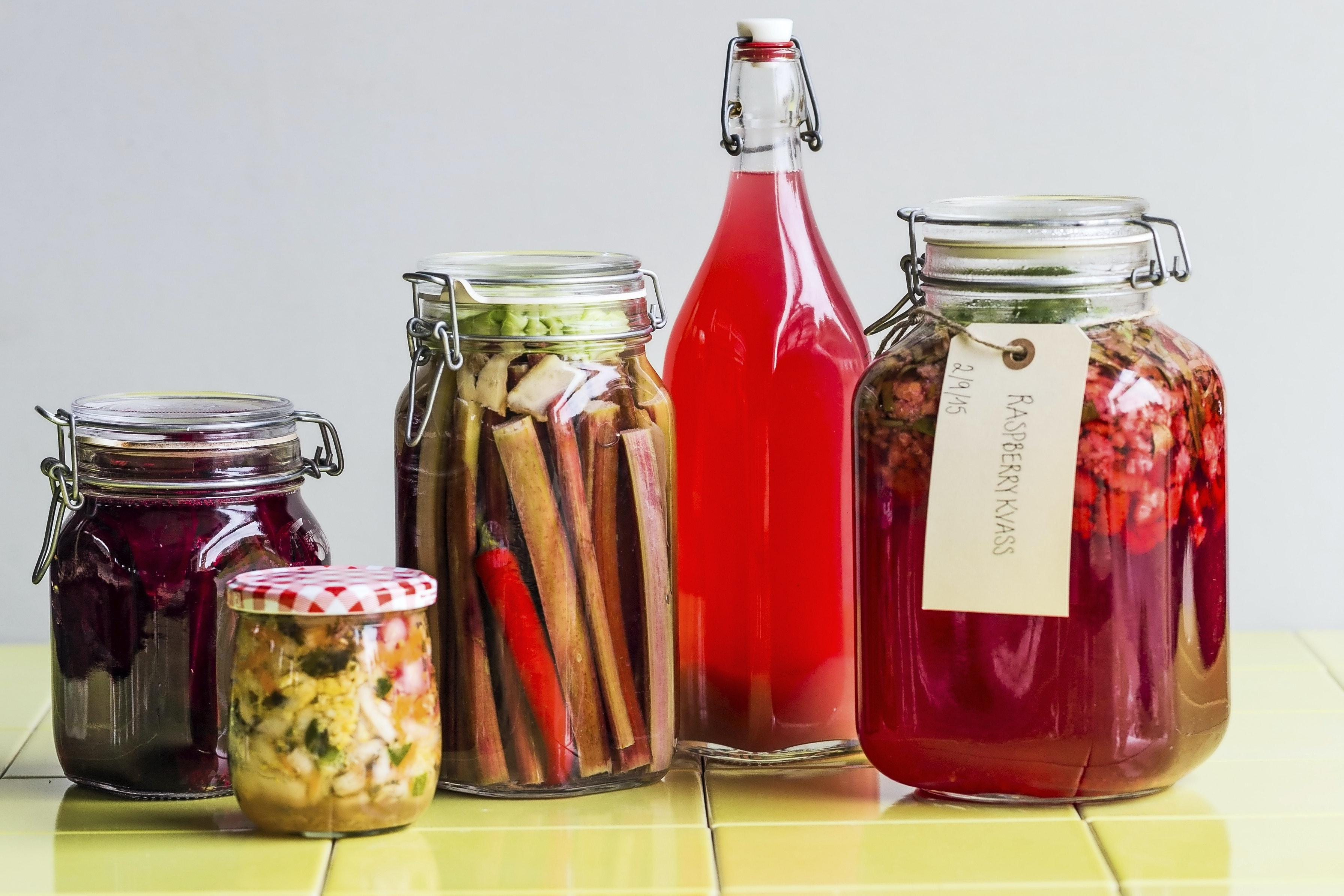 hvad er fermenteret mad