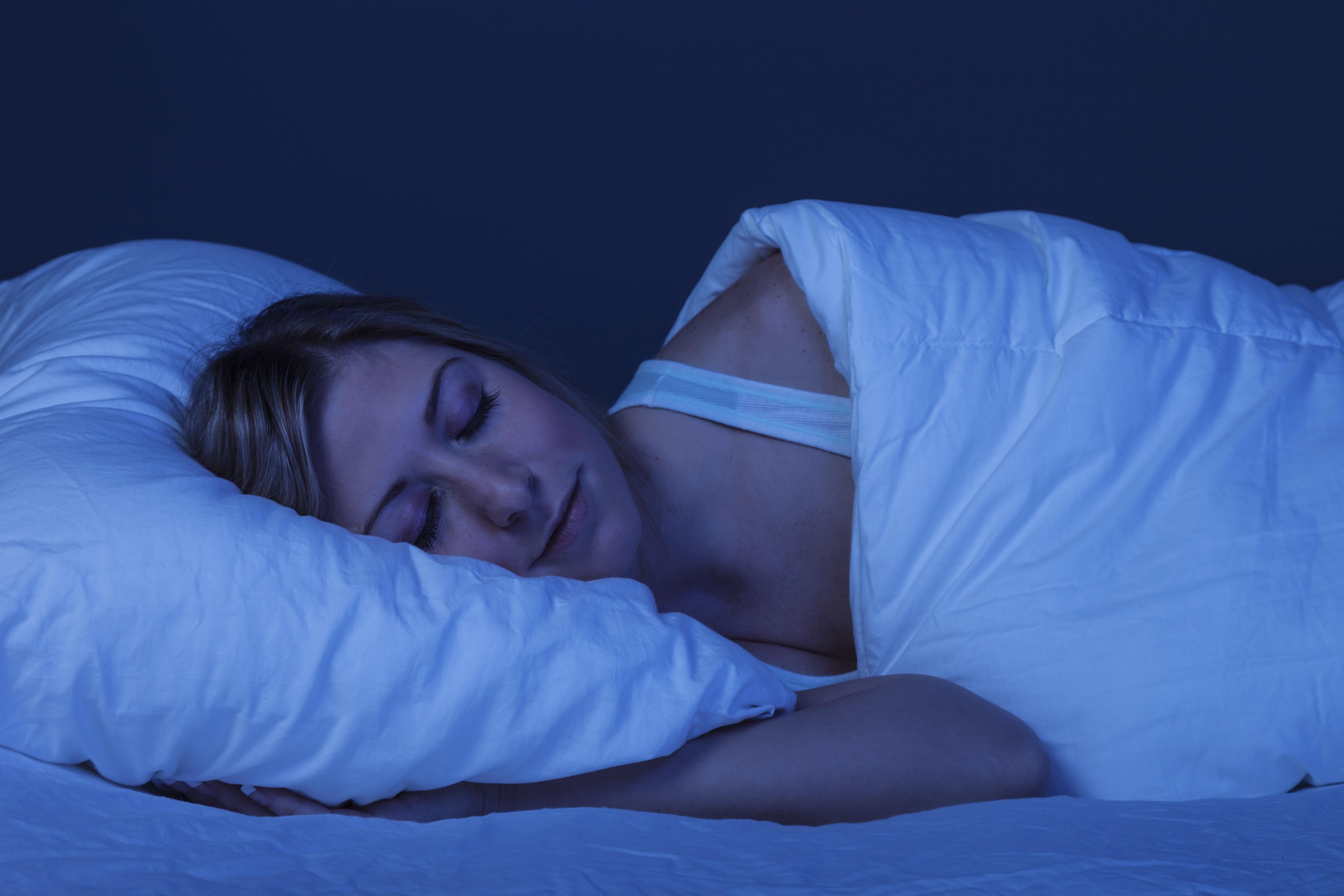 sova efter träning