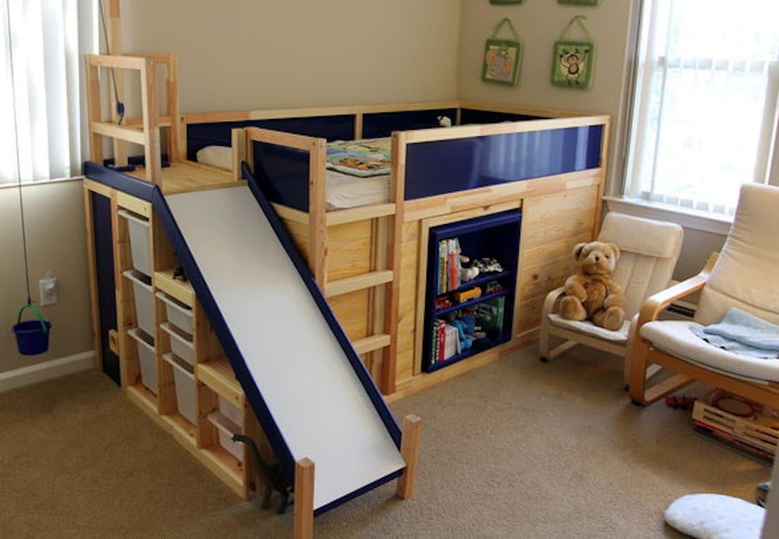 Fabriksnye IKEA hack | Rutschebane med hemmeligt rum | BoligMagasinet DG-48