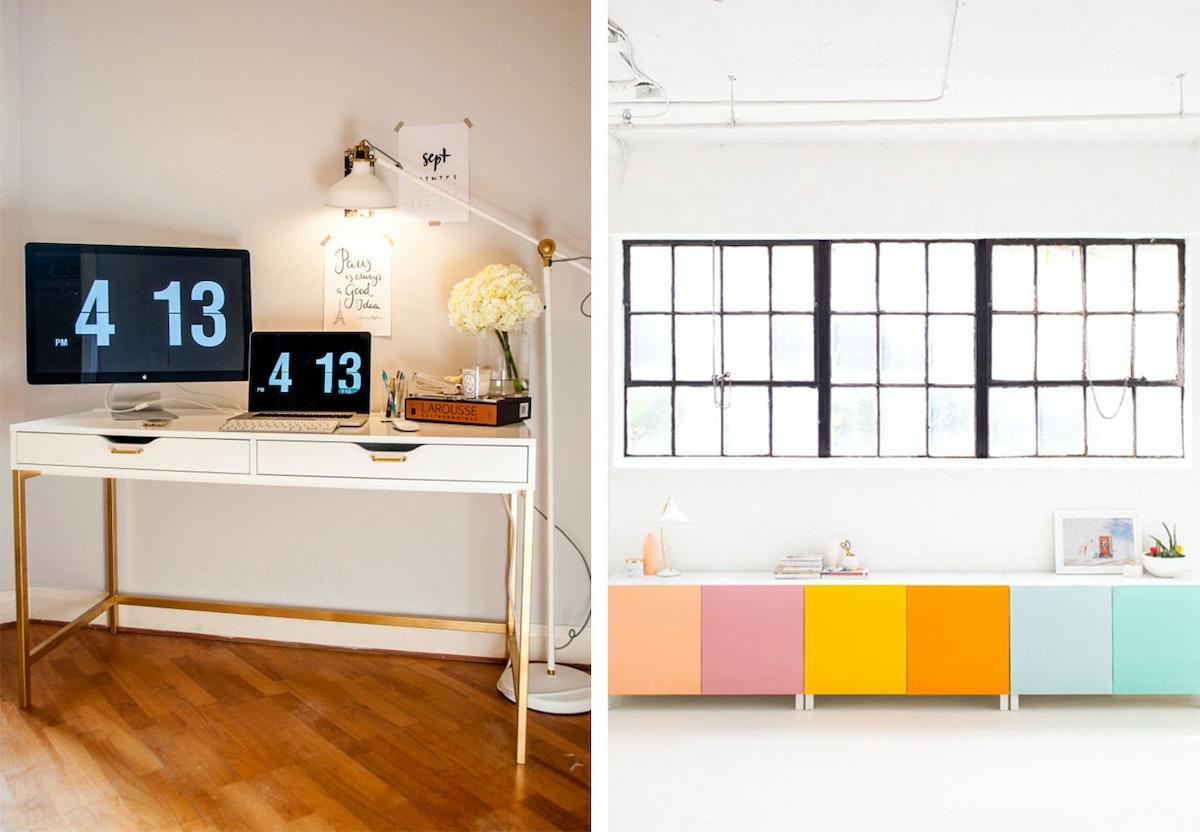 Hack dine Ikea mobler med maling og intet andet Boligmagasinet dk