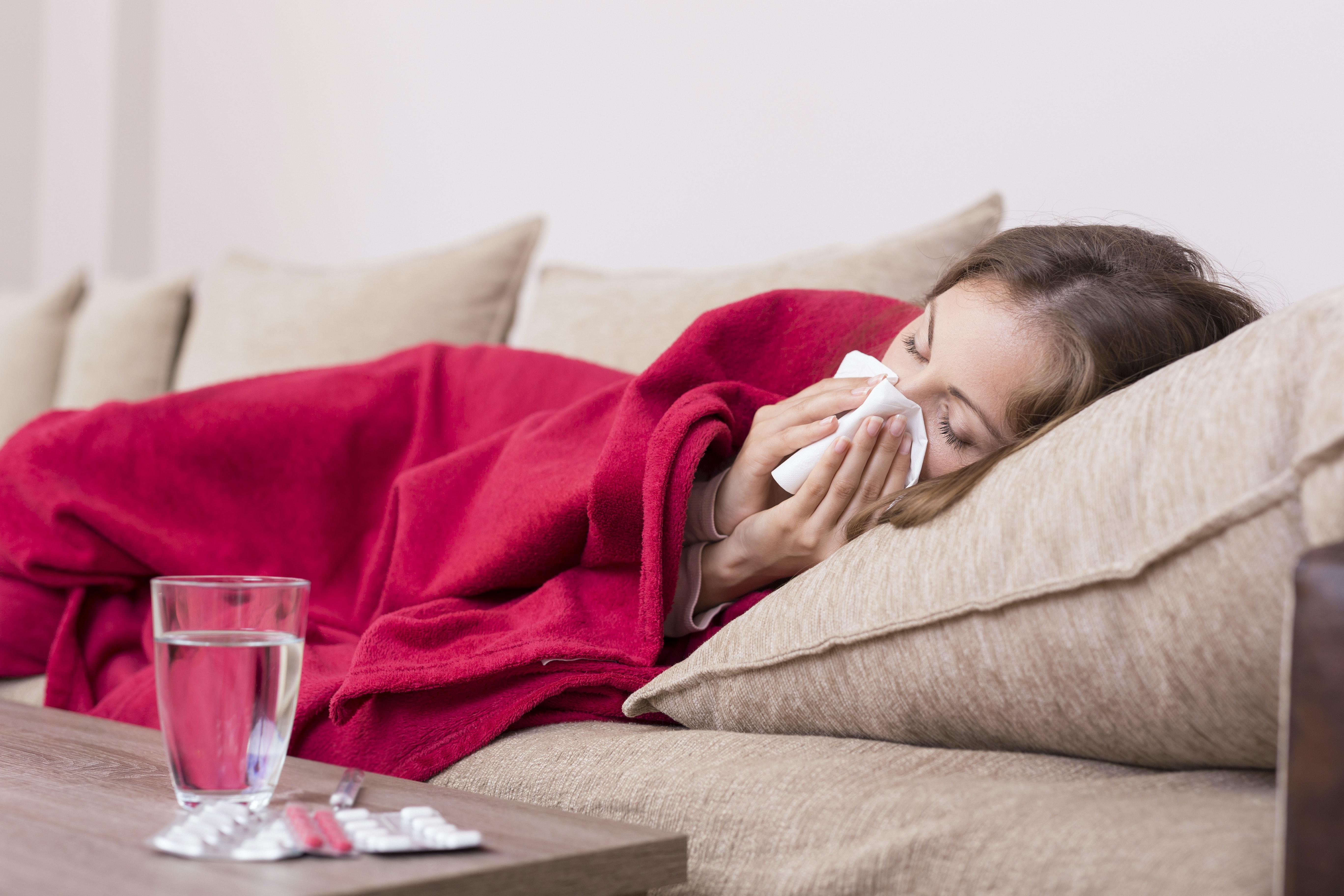gravid og influenza symptomer