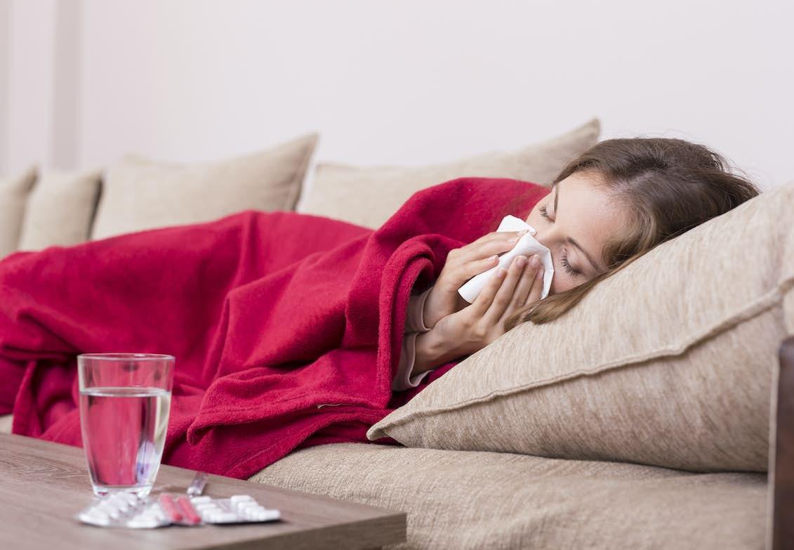 bli frisk snabbt från influensa