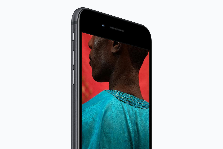 Bilden i fokus pa de nya mobilerna 3