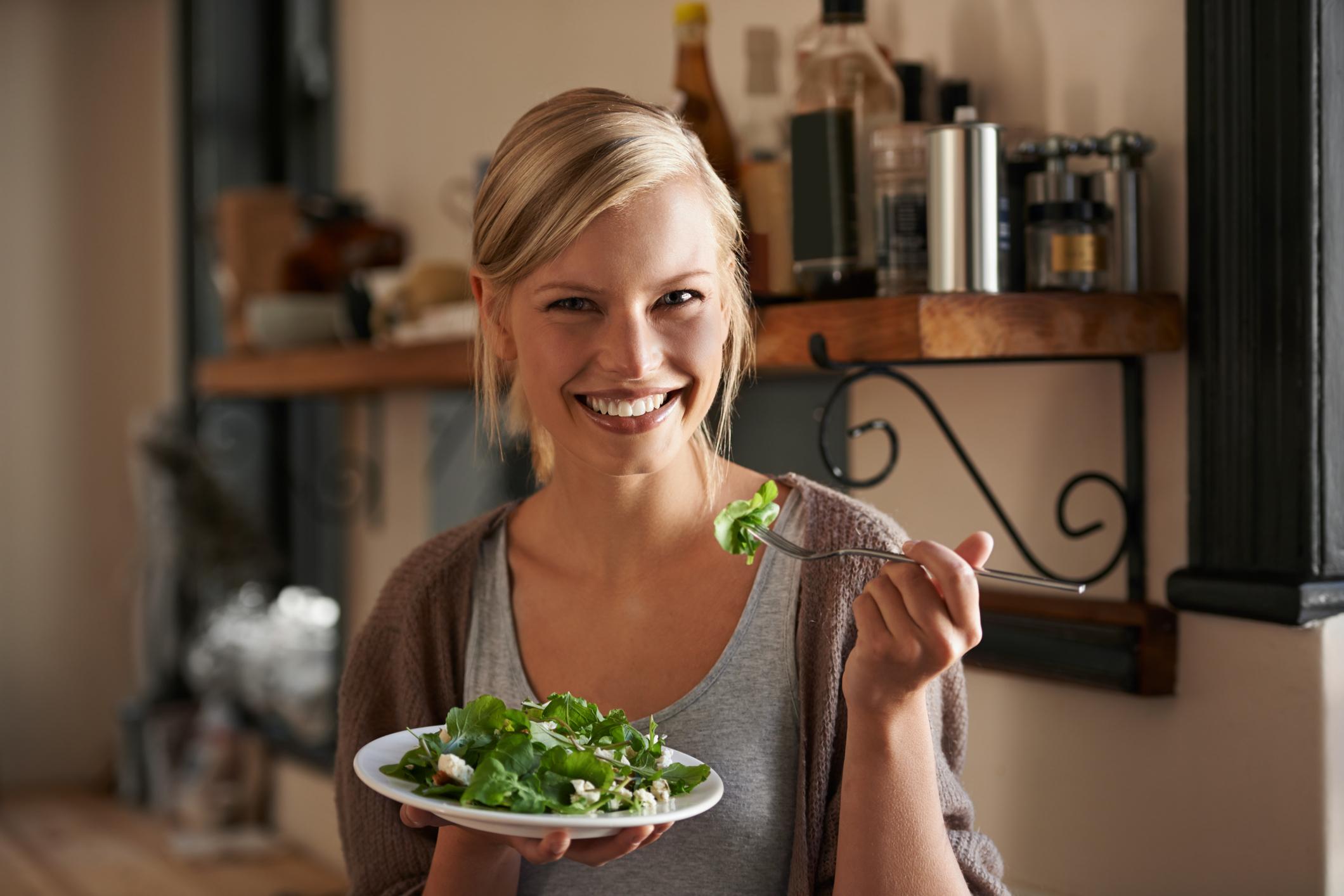 kalorisnål middag vegetarisk