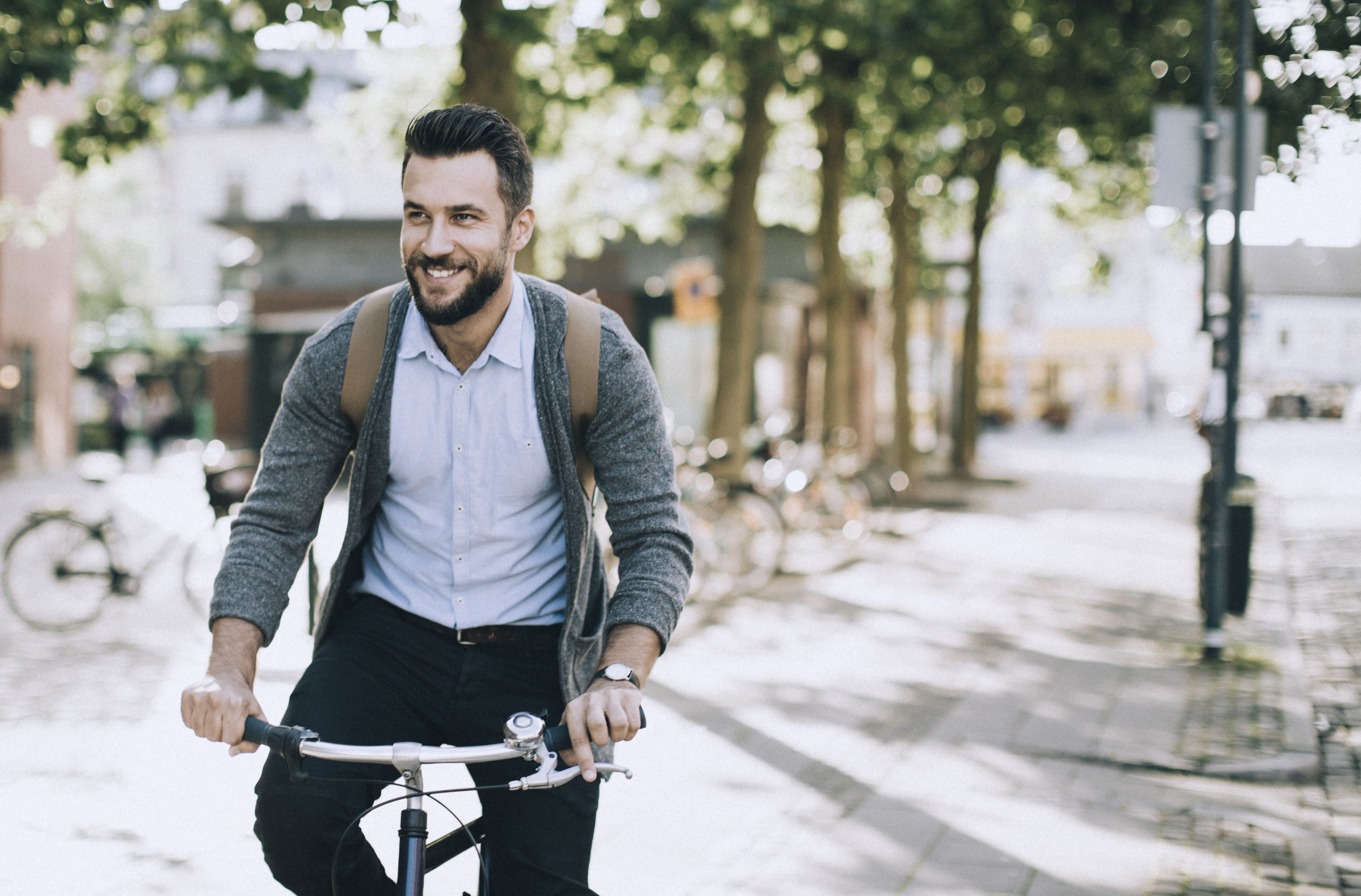 gå ner i vikt med cykling