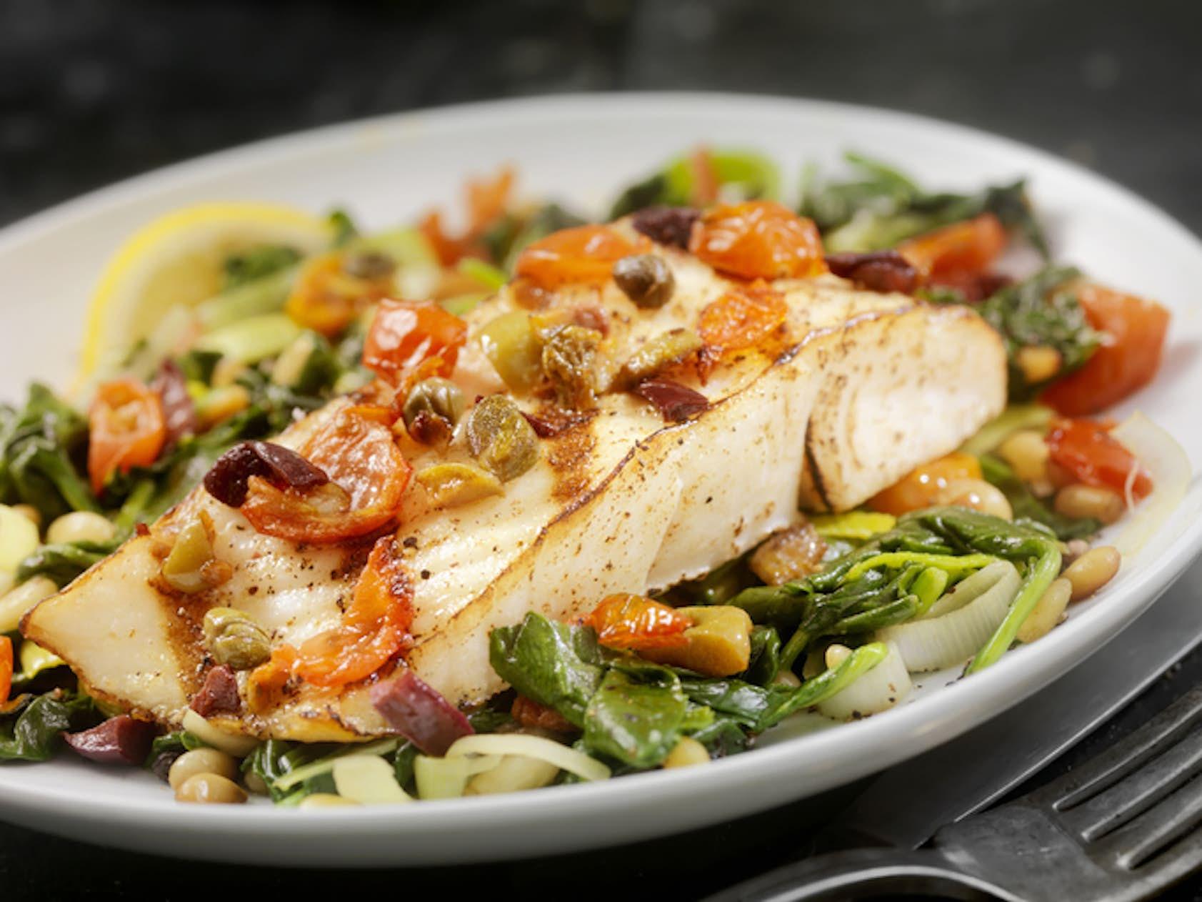 äta fisk varje dag
