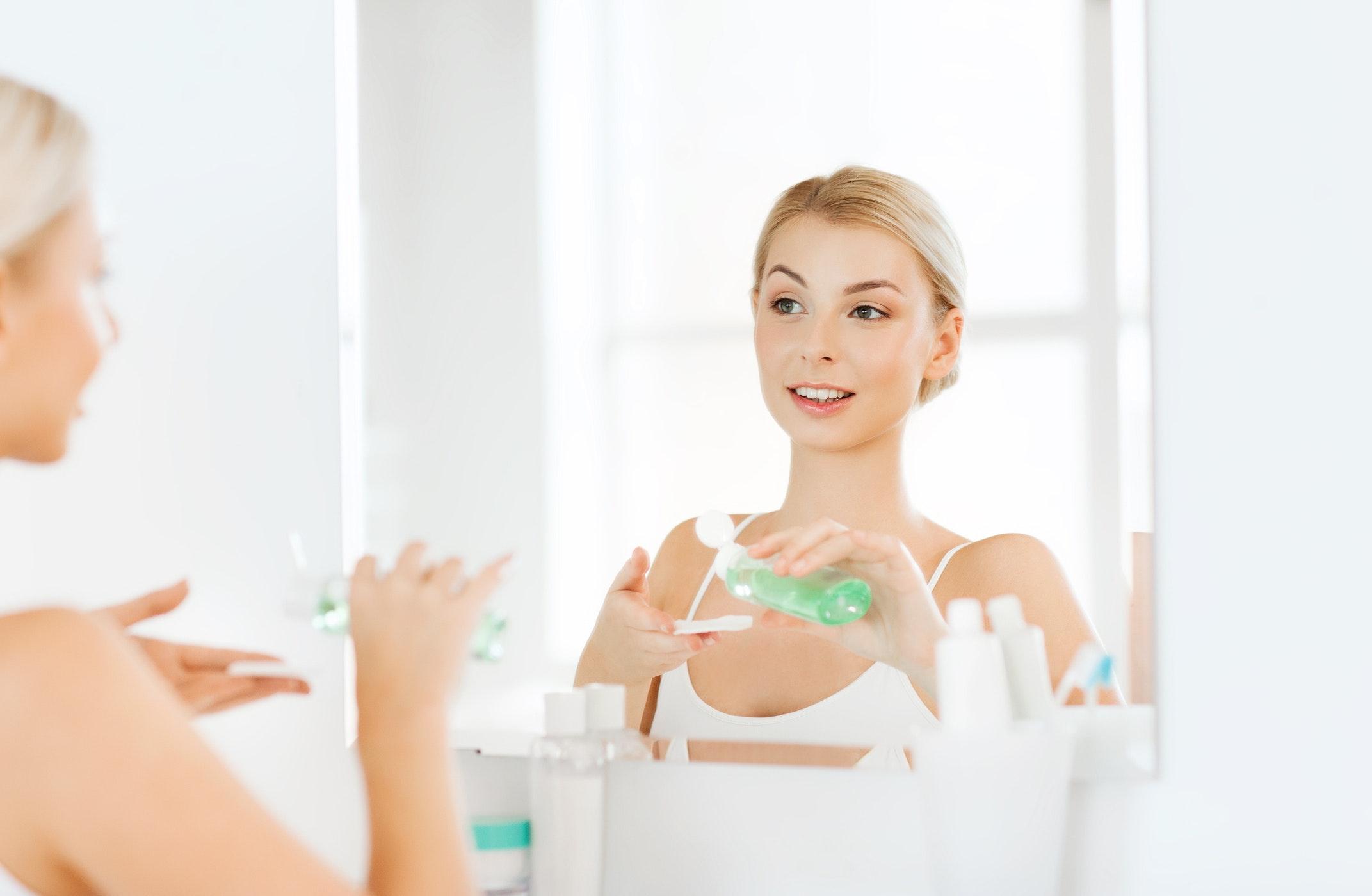 hvorfor rense huden