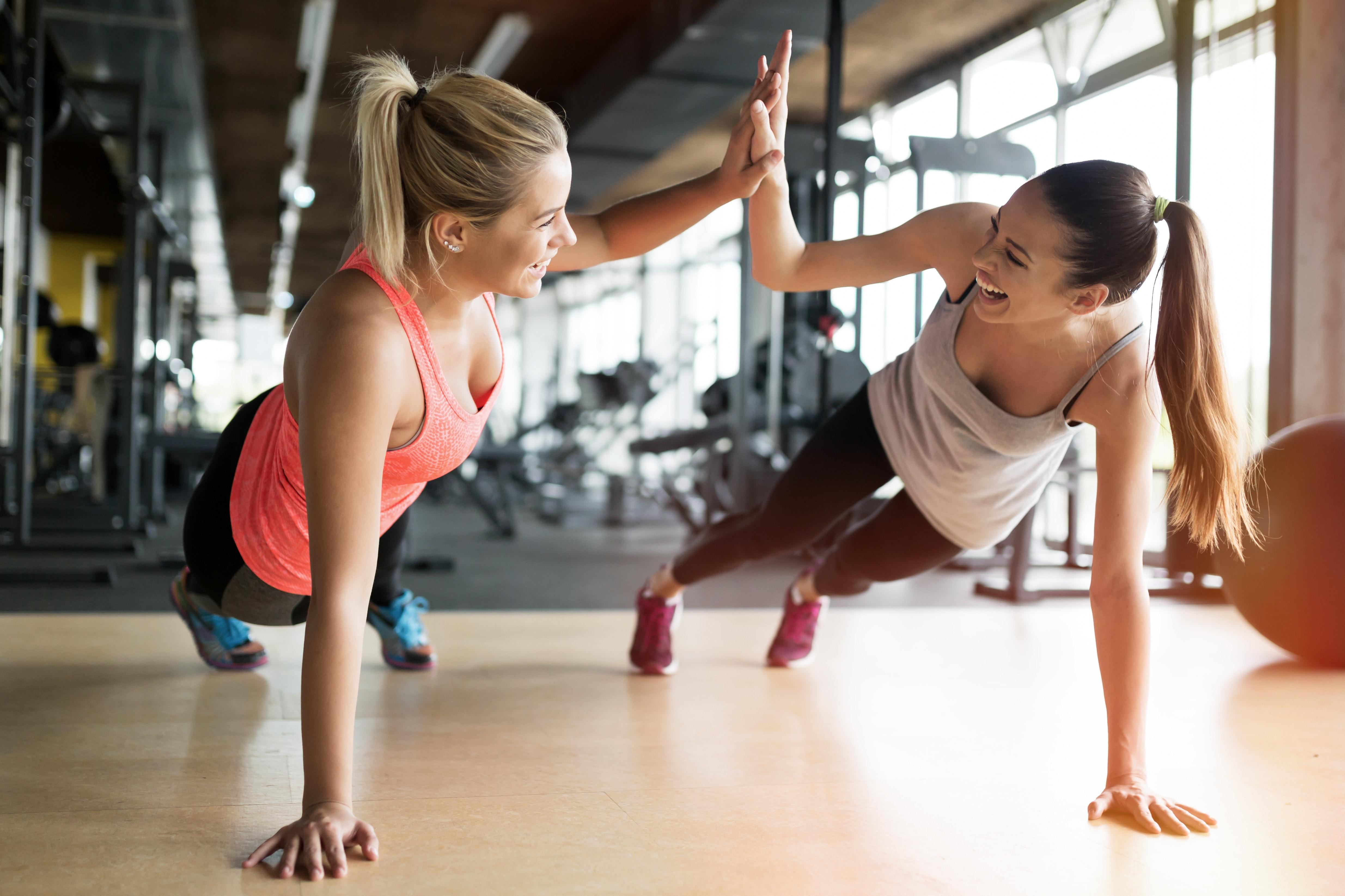 styrketrening for å gå ned i vekt