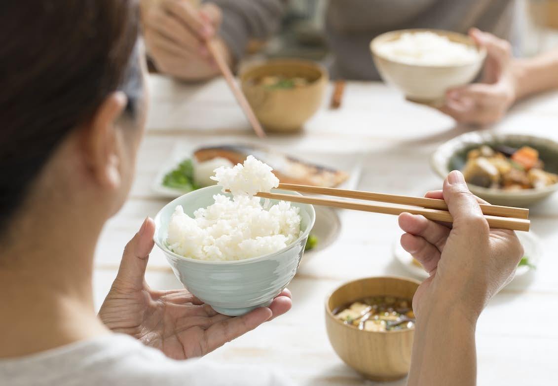 äta ris gravid