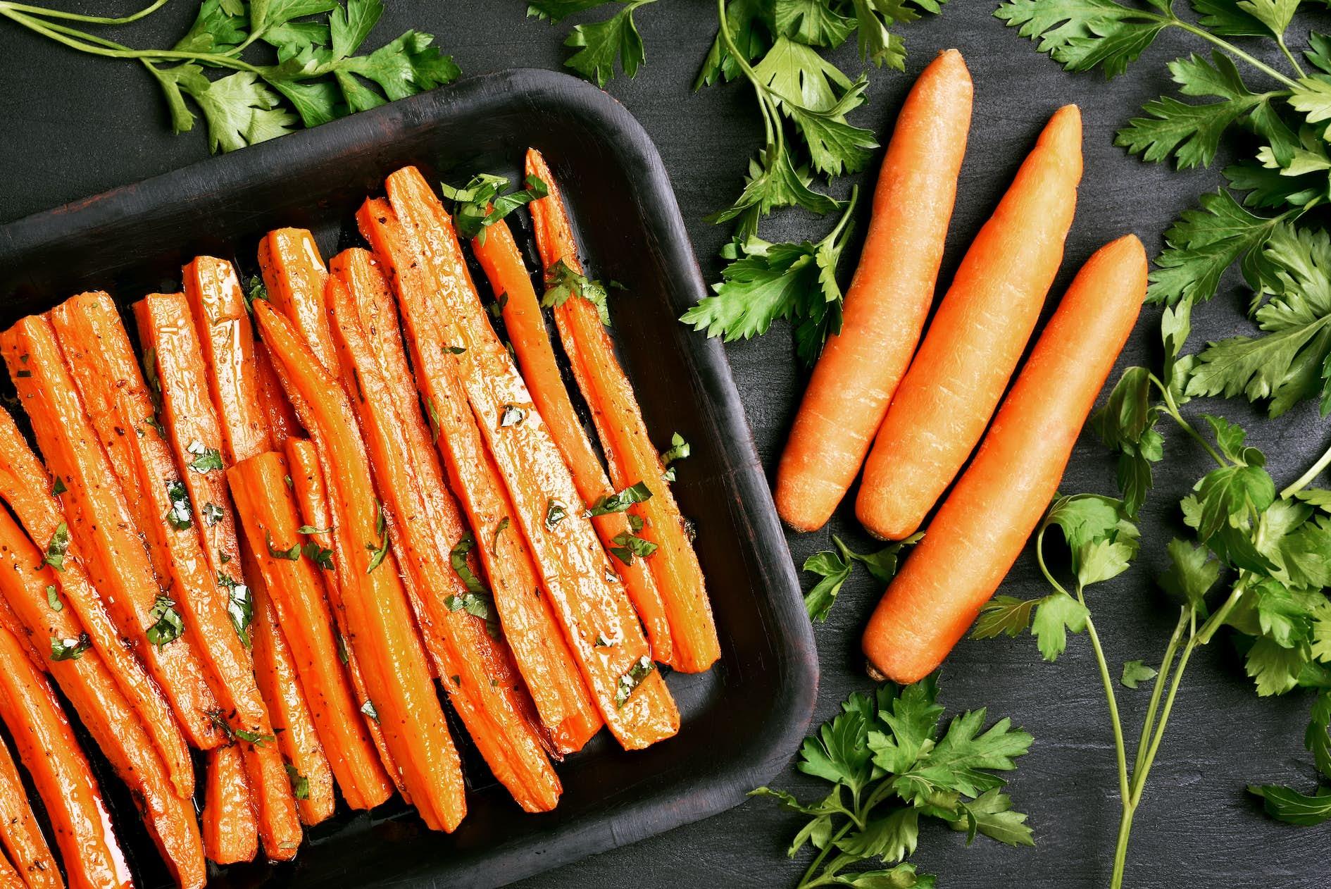 kokta morötter nyttigt