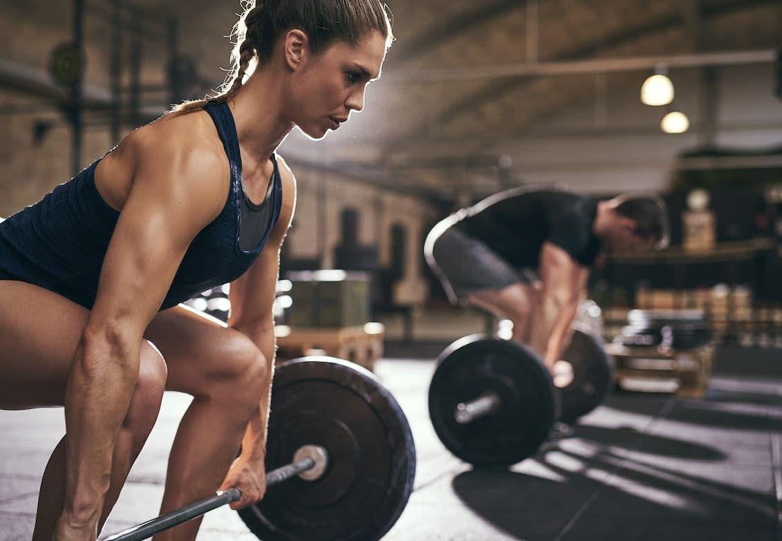 styrketräna för att gå ner i vikt