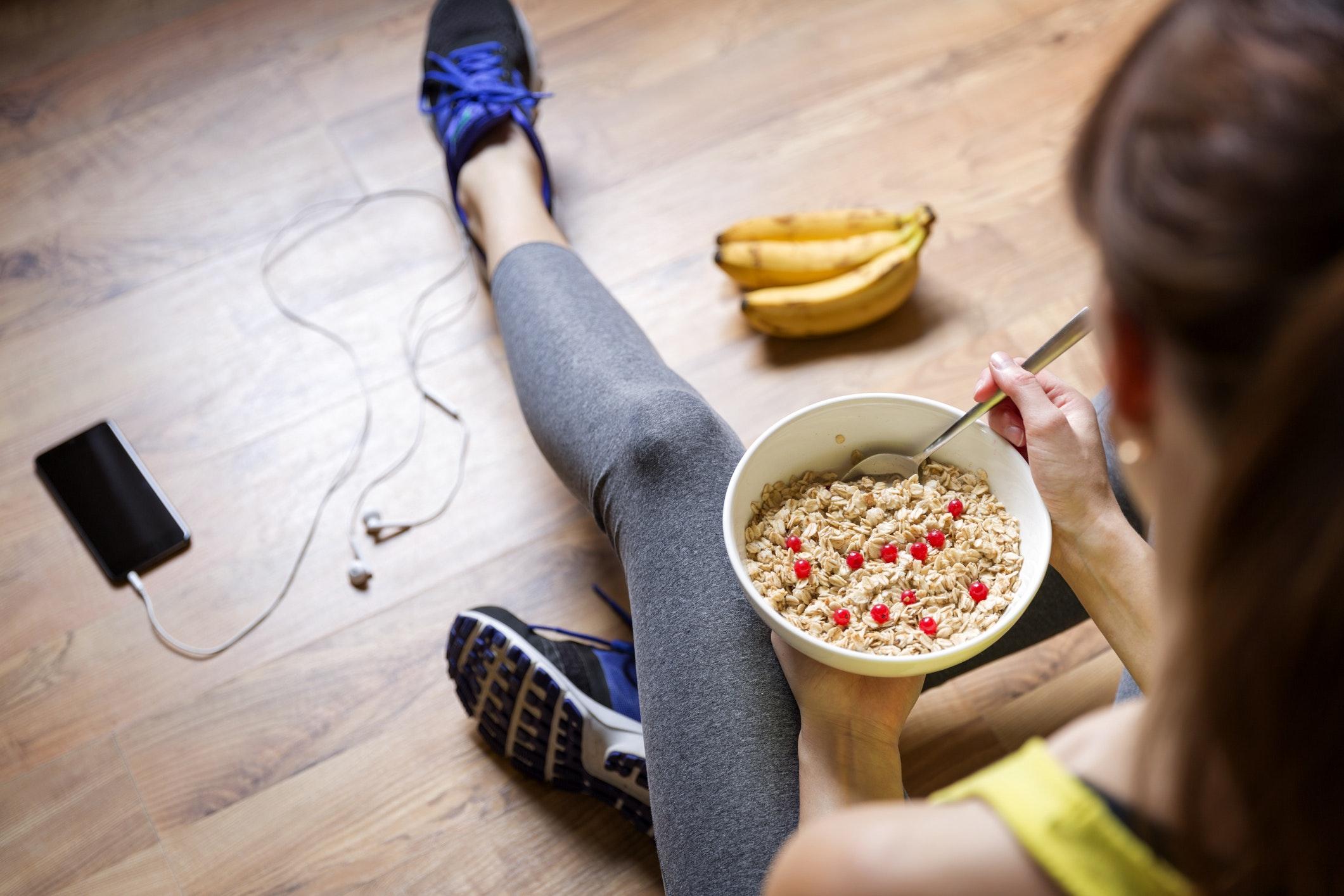 hurtige kulhydrater efter træning