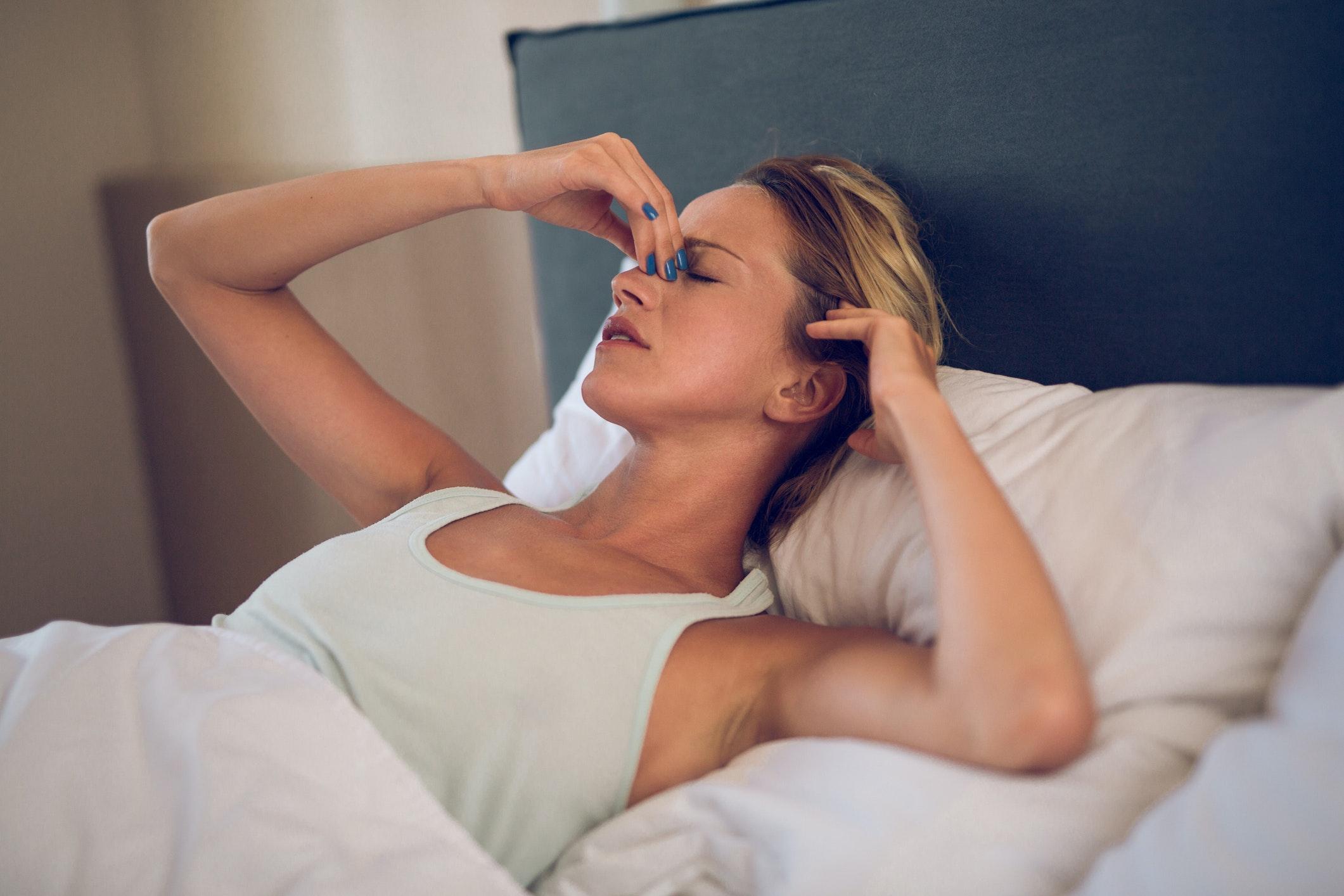 hur länge sitter bihåleinflammation i