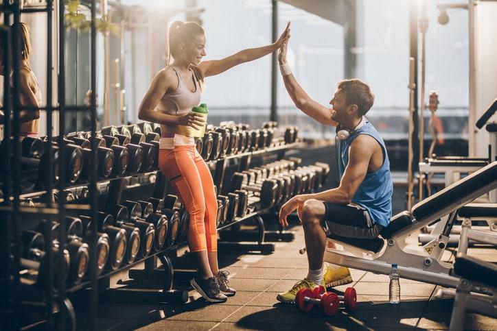 din träning muskler