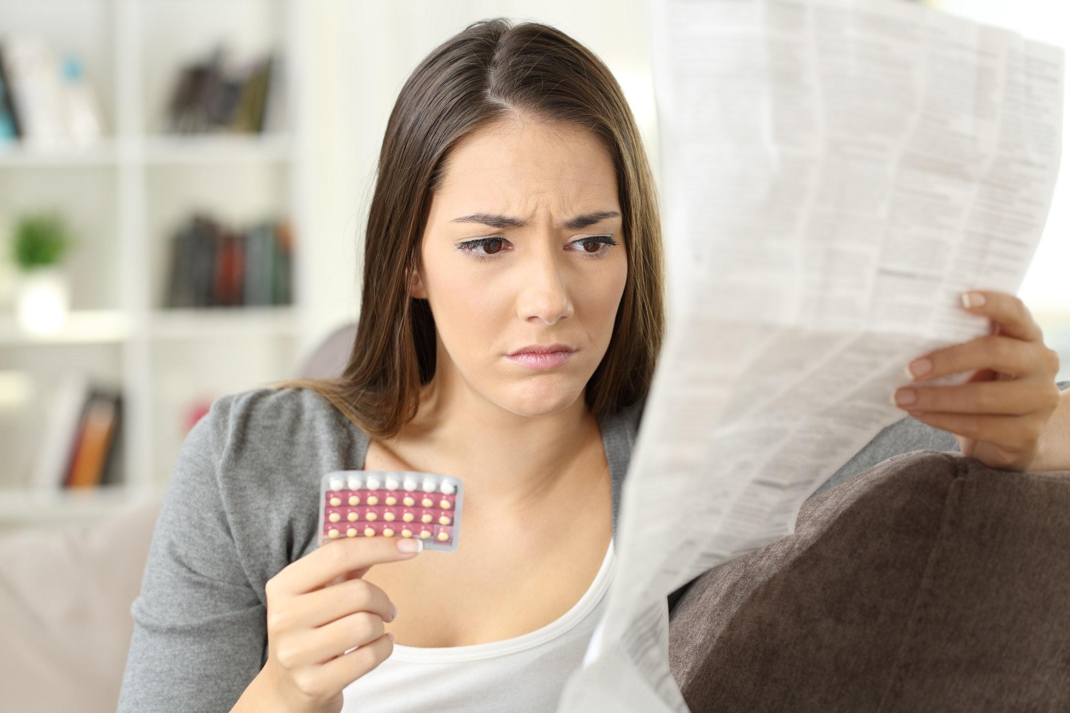 hvad sker der hvis en mand tager p piller