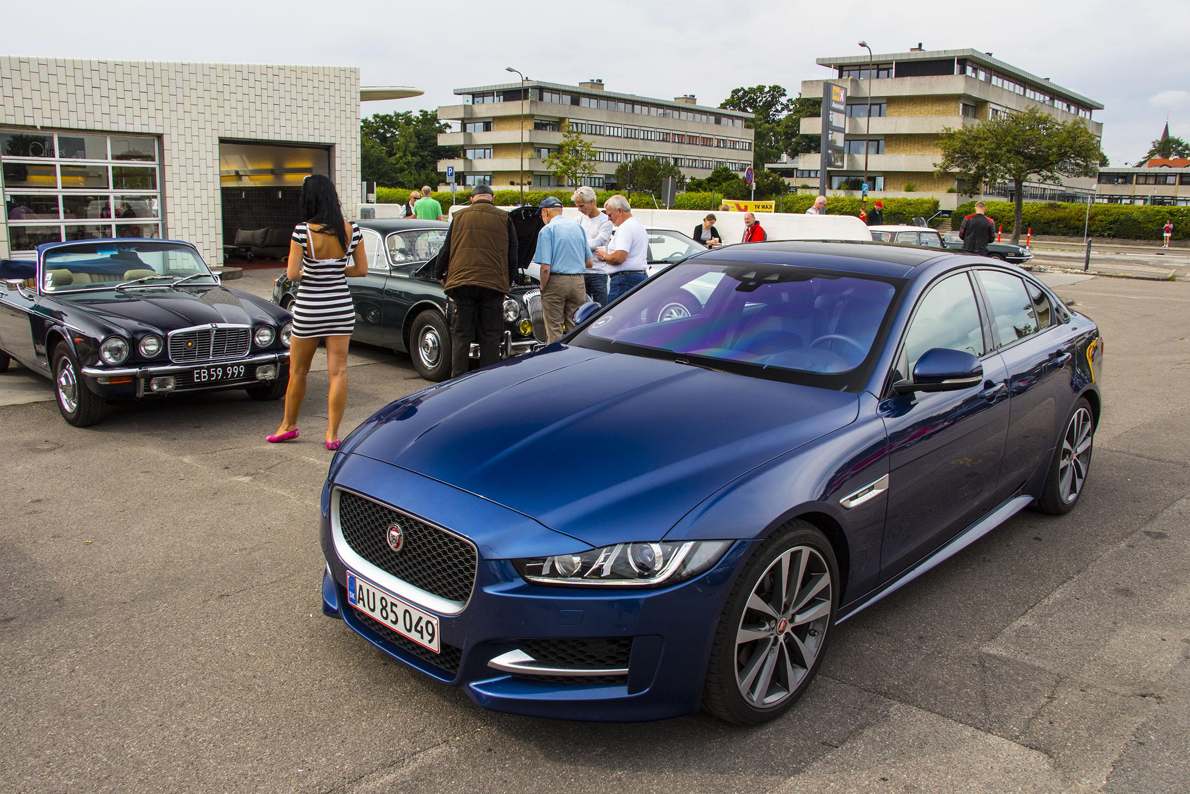 F Rste Test Af Den Nye Jaguar Xe Med Jarguars Egen 4
