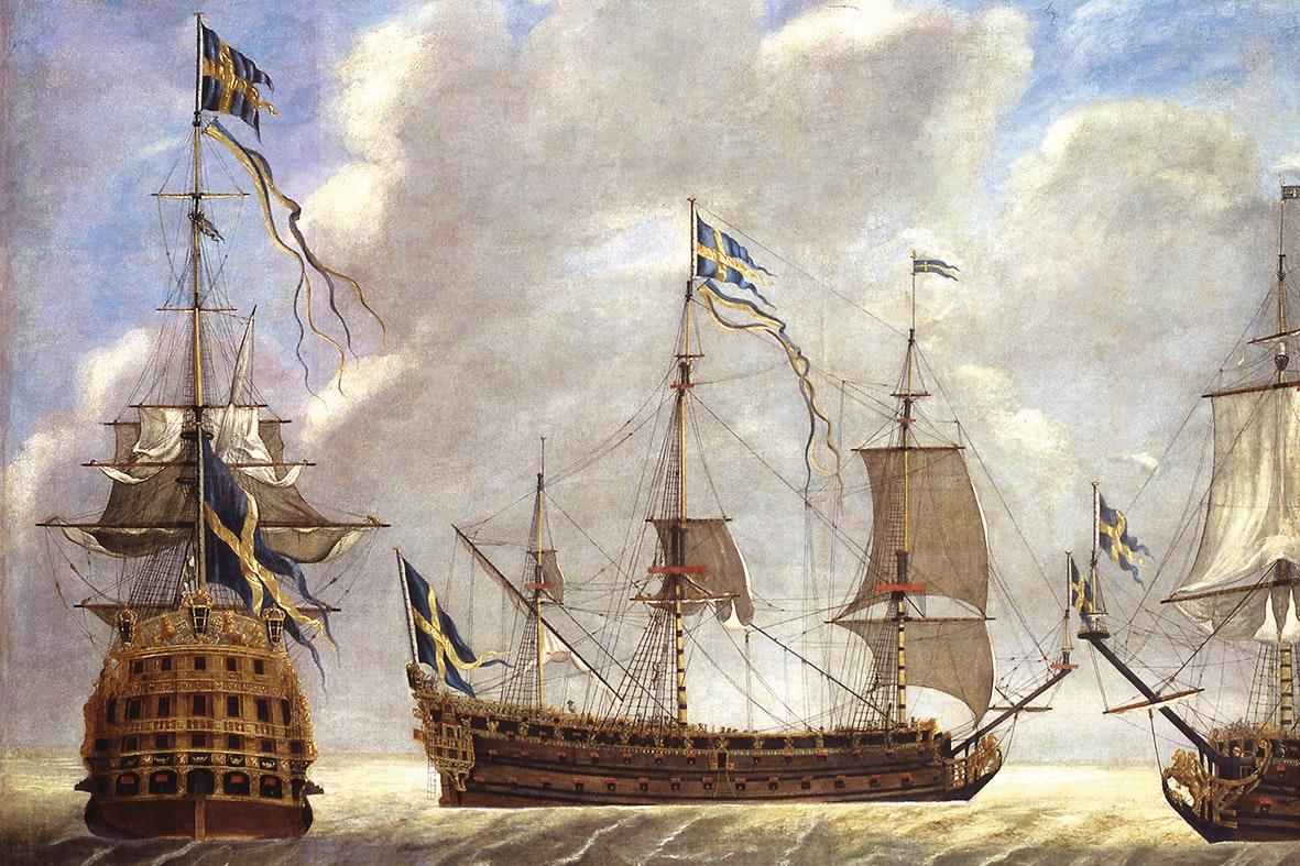 Ryskt moter svenskt pa skeppsholmen