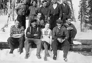 Kocka huggarlag skogsarbetare 1943 lolokken sorsele svea johansson xye8bjq mntnox33seleia