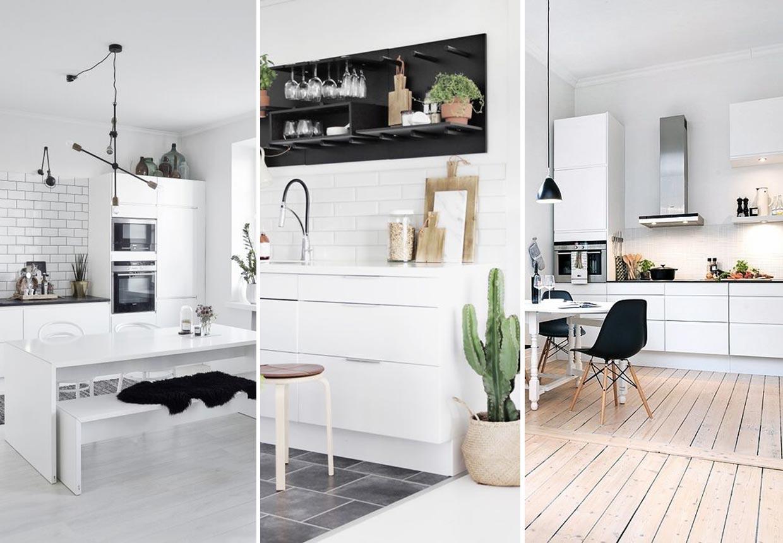 15 lækre køkkener til alle os, der elsker den nordiske stil ...