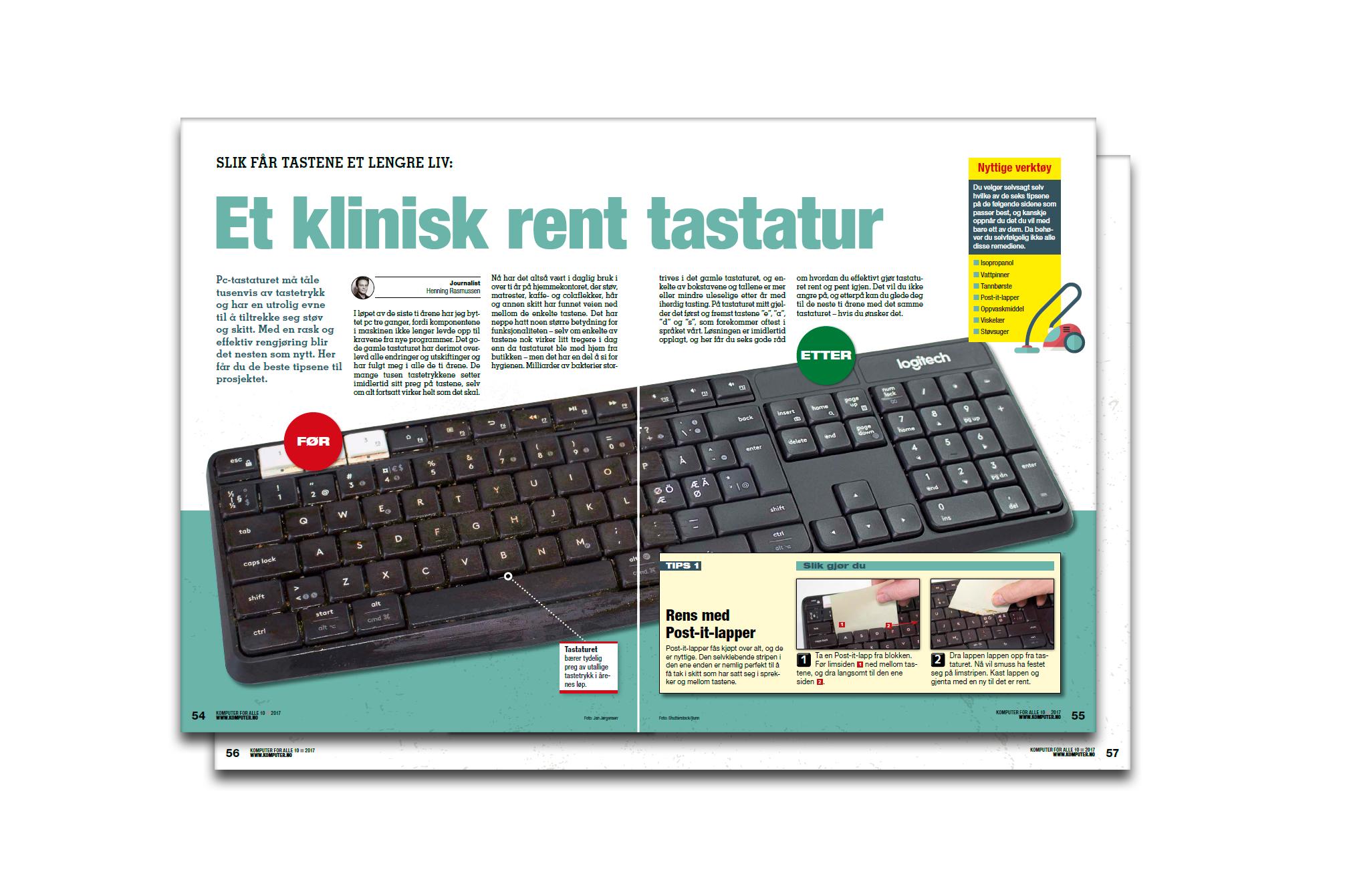 Hjelp: Tastaturet mitt virker ikke! | Komputer.no