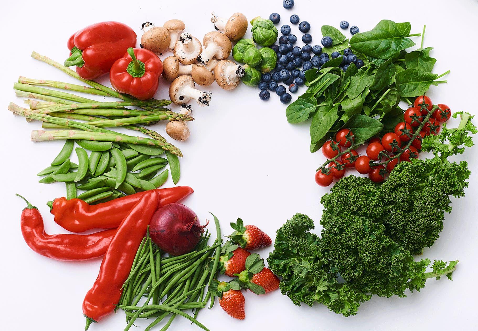 vad innehåller grönsaker