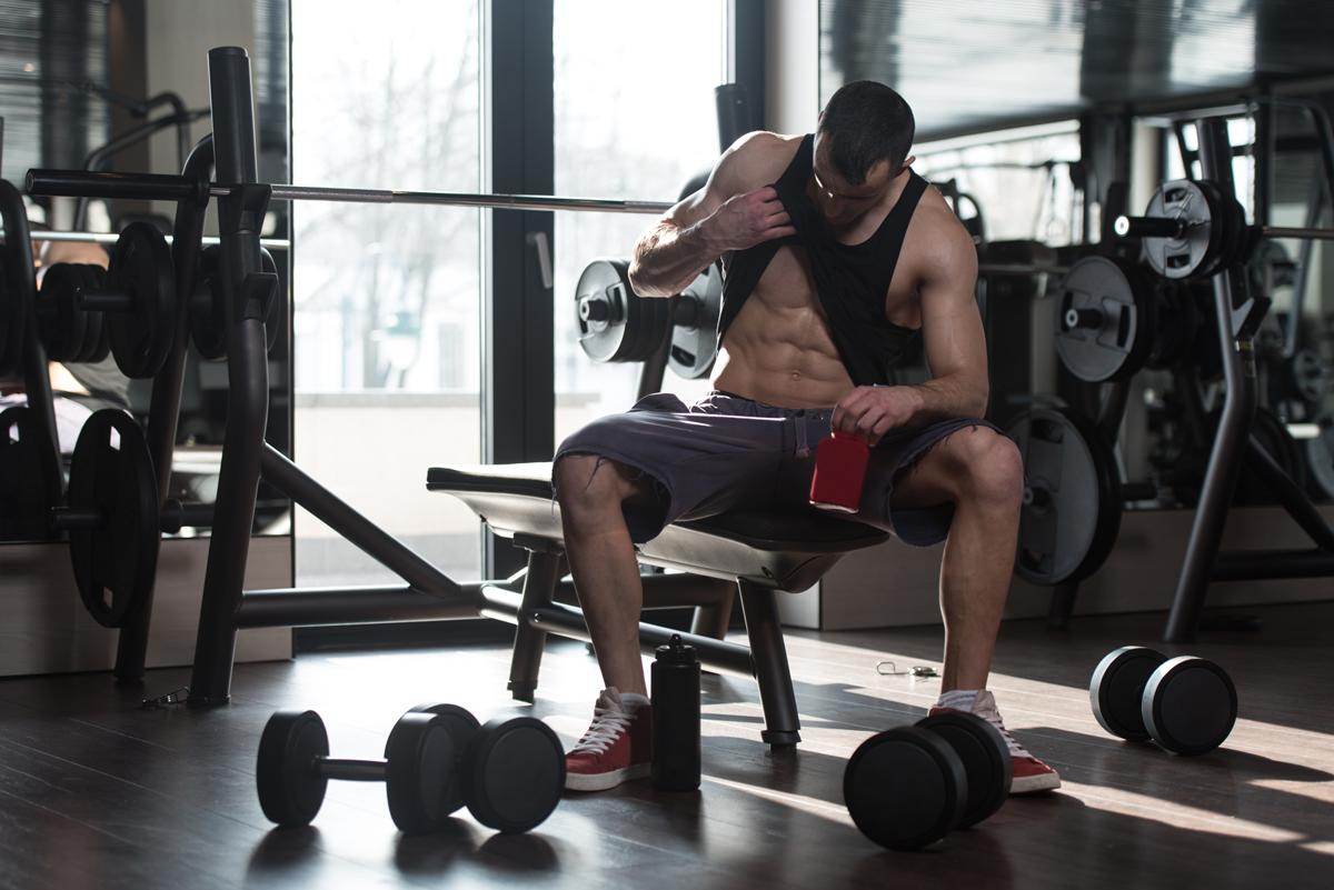 kosttillskott när man tränar