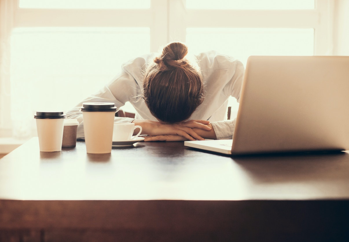 stressøje symptomer
