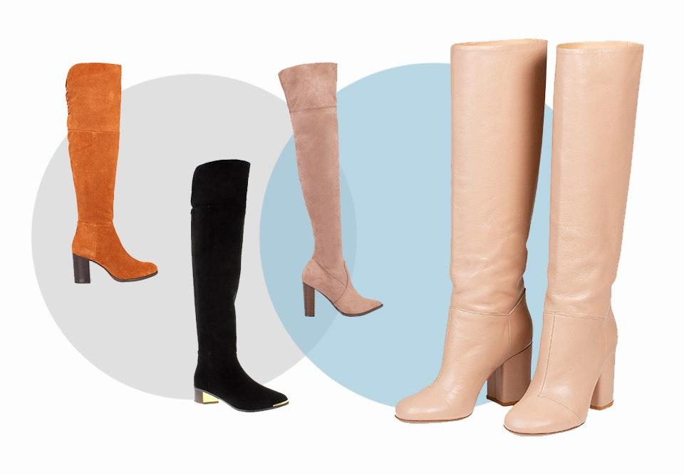 lange læder støvler