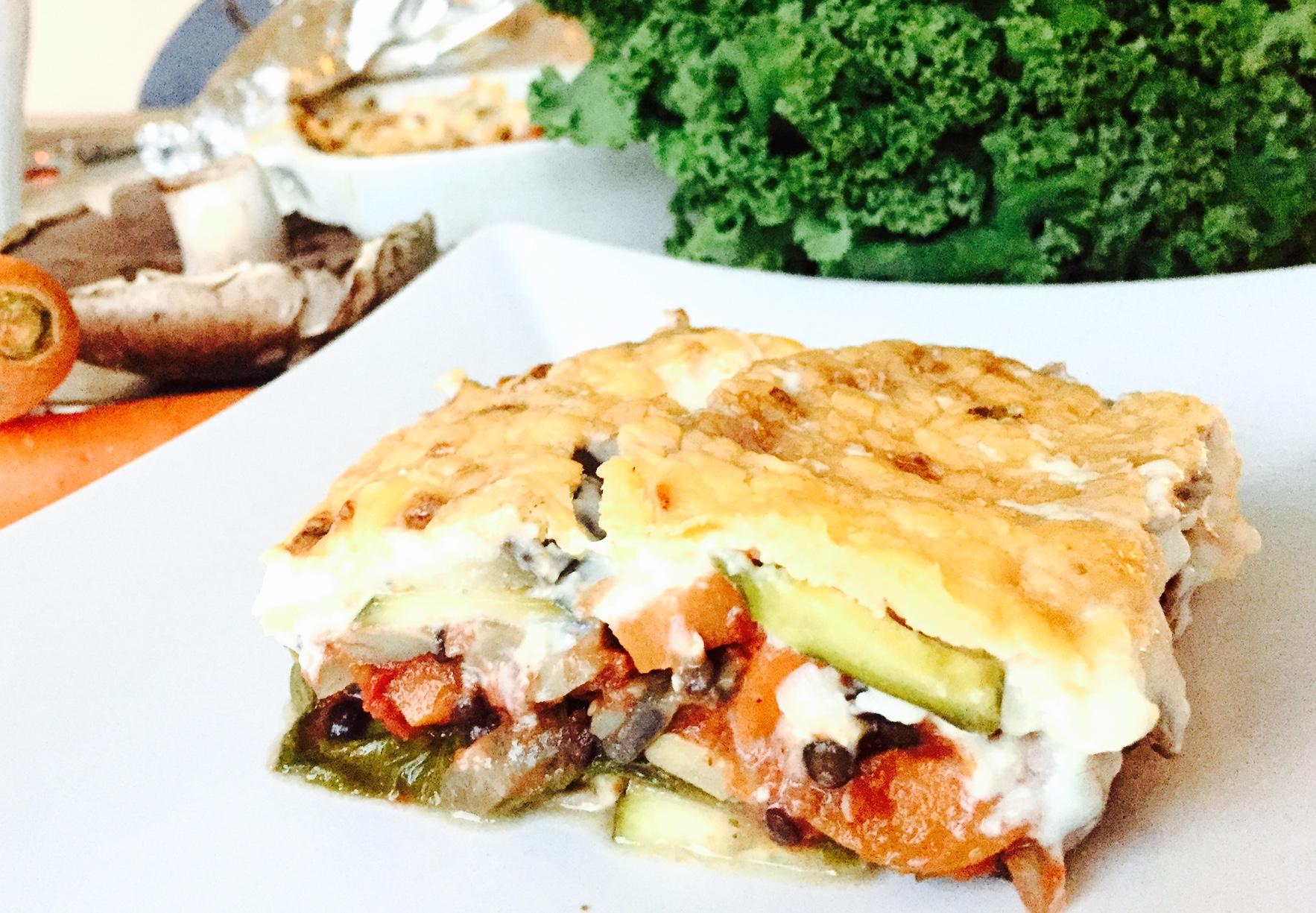 lasagne uden kød