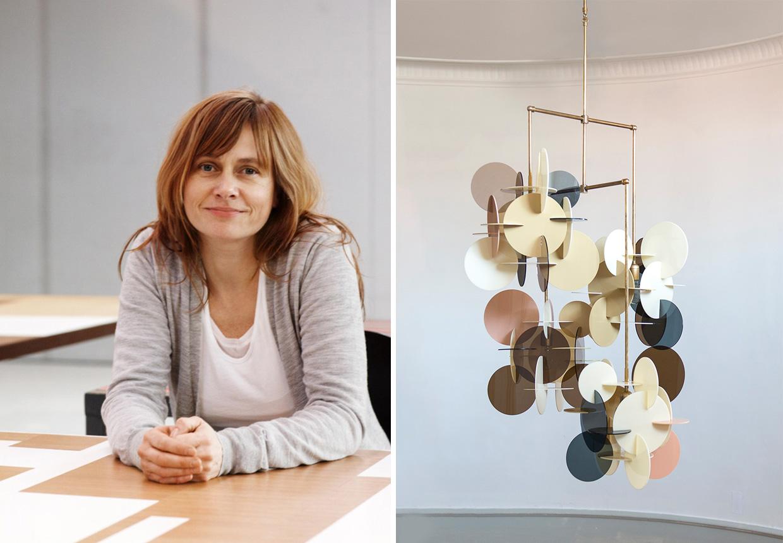 Vibeke Fonnesberg Schmidt skaber smukke ekspressive lamper ...