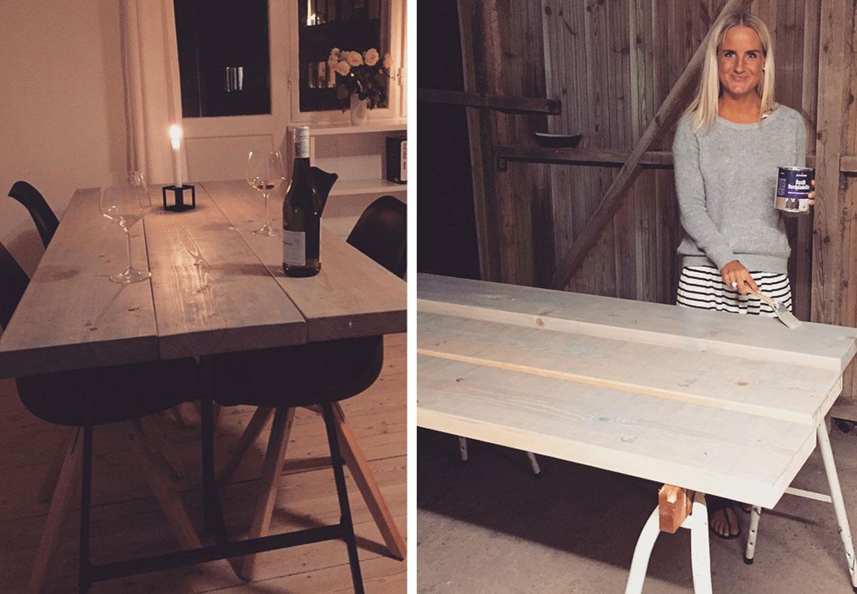 #8F513C Mest effektive Lav Dit Eget Rustikke Plankebord Boligmagasinet.dk Gør Det Selv Spisebord 6115 12408606115