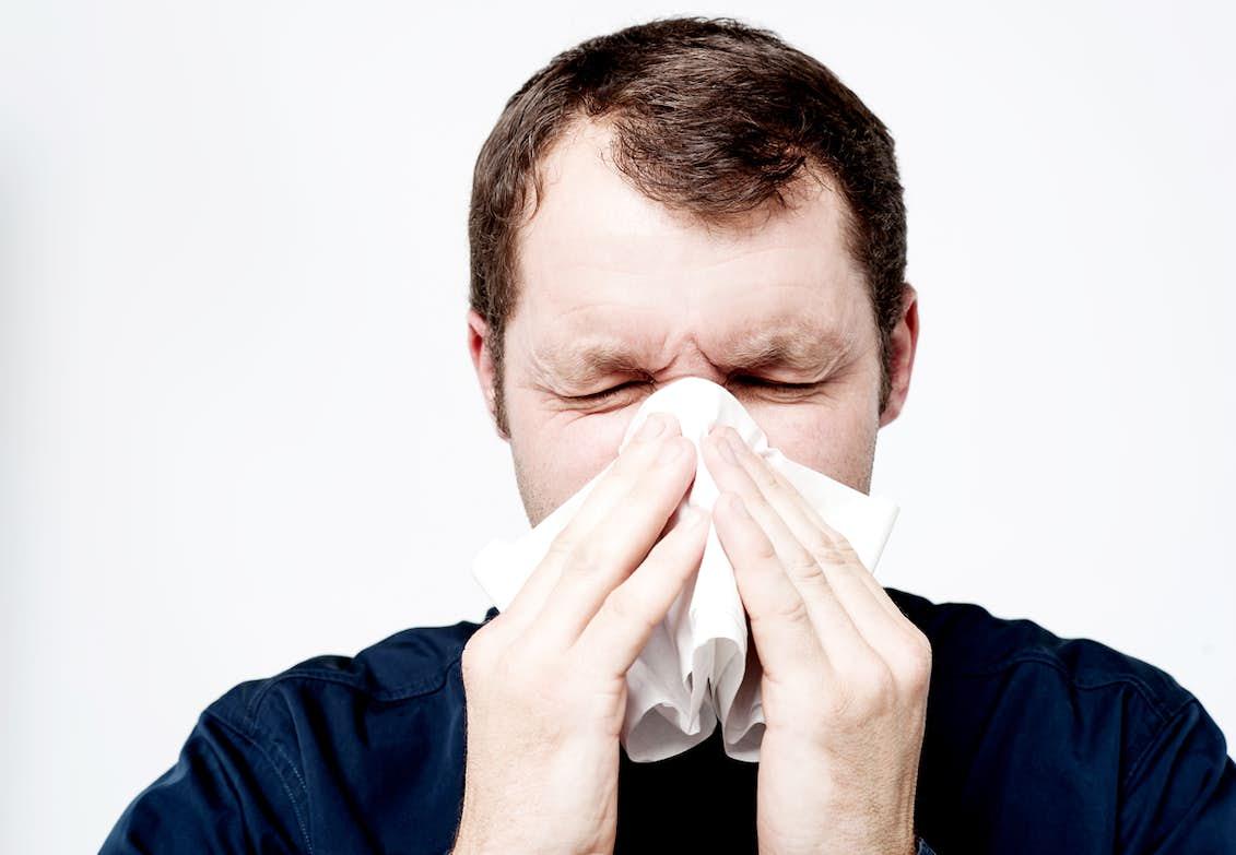 fasta under förkylning