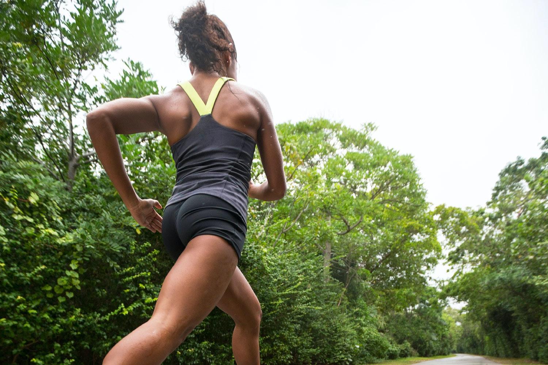trene med vondt kne
