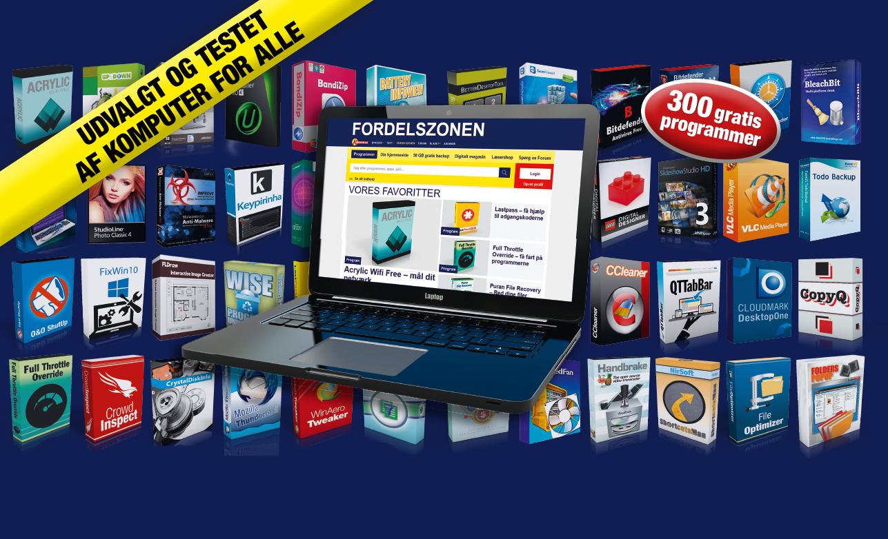 Masser af gratis pc-programmer i Fordelszonen | Komputer.dk
