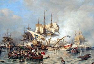 Malning 1866 alexej bogoljubov slaget vid ledsund 1720 hfipokcsmwi7ceedbtomlq