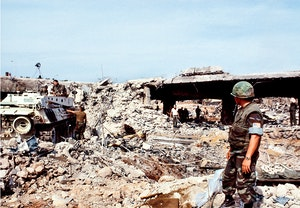 Marinkarsbasen sprangd beirut 1983 ruiner kb7pr3lhoidfrwjiwosloq