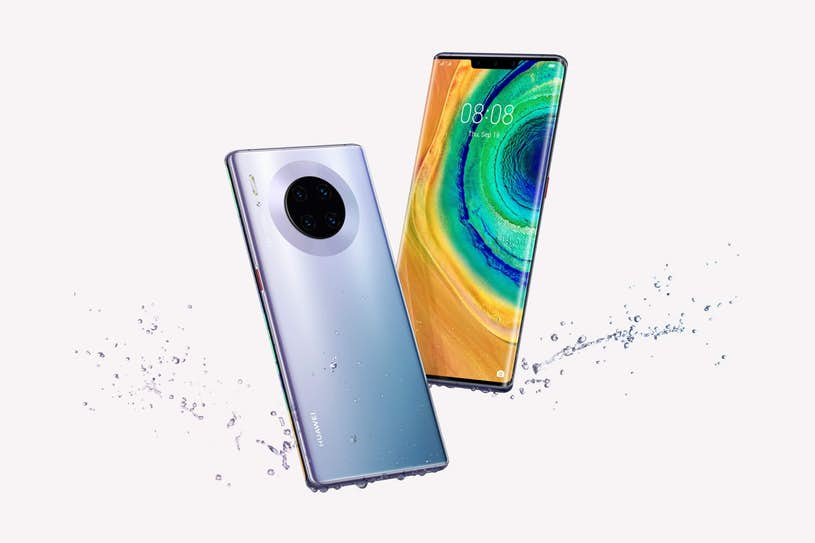 Huawei Mate 20 Pro Testsonen