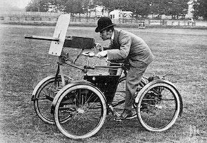Maximkulspruta motor scout fyrhjuling 1899 cykel frederick richard simms jvga9mlg3jada56c4hu 3w
